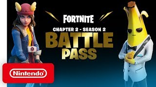 Fortnite Chapter 2: Season 2 - Battle Pass Trailer - Nintendo Switch