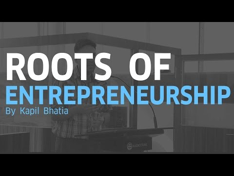 Roots of Entrepreneurship | Kapil Bhatia | StyleMelon | TSEC Project Expo'17
