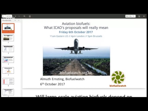 Aviation biofuels: What ICAO's proposals will really mean