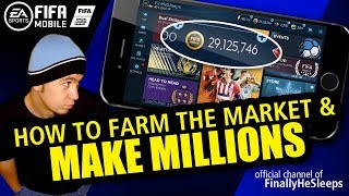 FIFA Mobile 19 - MAKE MILLIONS QUICK AND EASY - How to Farm the Market in no time!