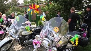 клип. Свадьба на Мотоциклах