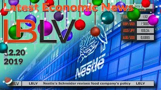 LBLV Nestle's Schneider revises food company's policy 2019/20/12
