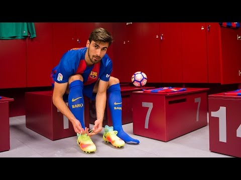 BEHIND THE SCENES: André Gomes' presentation as a FC Barcelona player