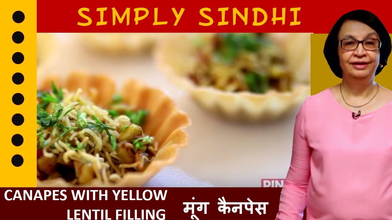 sc 1 st  YouTube & Best Canapes With Yellow Lentil Filling (Moong) By Veena - YouTube