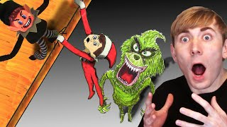 Christmas DIYs You Should NOT TRY 😈 Elf On The Shelf, Frozen 2, Grinch - DIY Drawings & Crafts