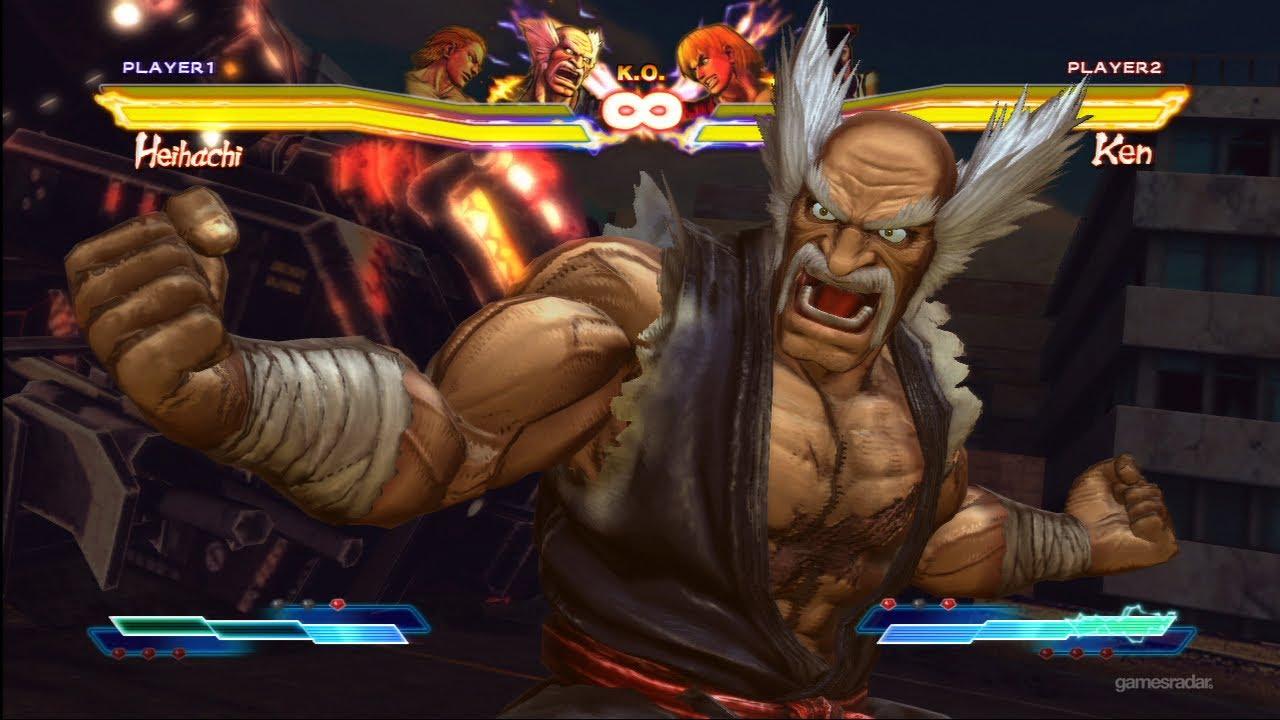 Heihachi Character Demo - Street Fighter X Tekken - YouTube