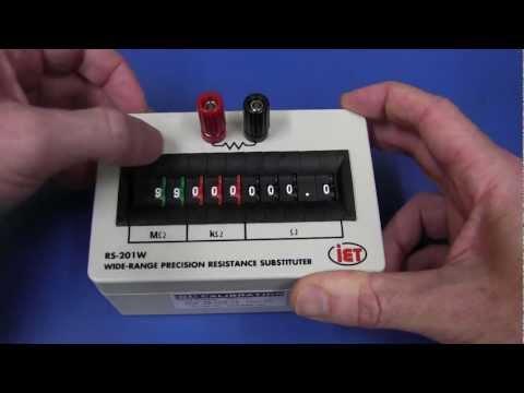 EEVblog #211 - IET Decade Resistance Substitution Box