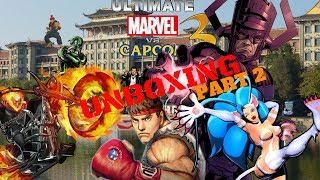 FIGHTING GAME SERIES Ultimate Marvel vs Capcom remastered UNBOXING PART 2