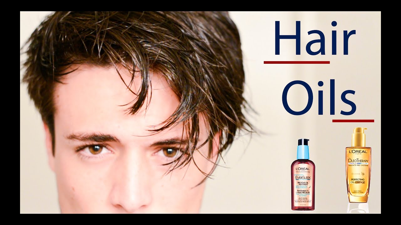 Hair Styling Oil Men Healthy Hair Hair Oils To Achieve Softer Hair  Youtube