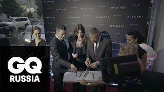 Гала-открытие бутика Bulgari в Москве