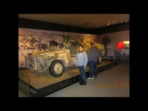 War Museum Canberra Winter of July 2017 - With Lt Col Yap and Ian Yap Kok Weng