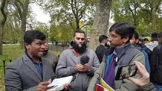 P1 Christian Deception! Shabir Vs Arul Speaker's corner Hyde Park