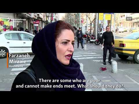 Tehran Residents Share Economic Grievances Amid Protests