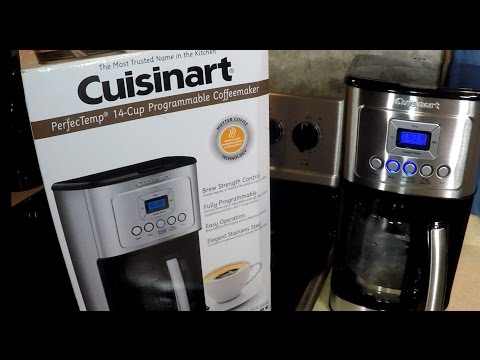 Cuisinart 14 Cup Coffee Maker UnBoxing Review