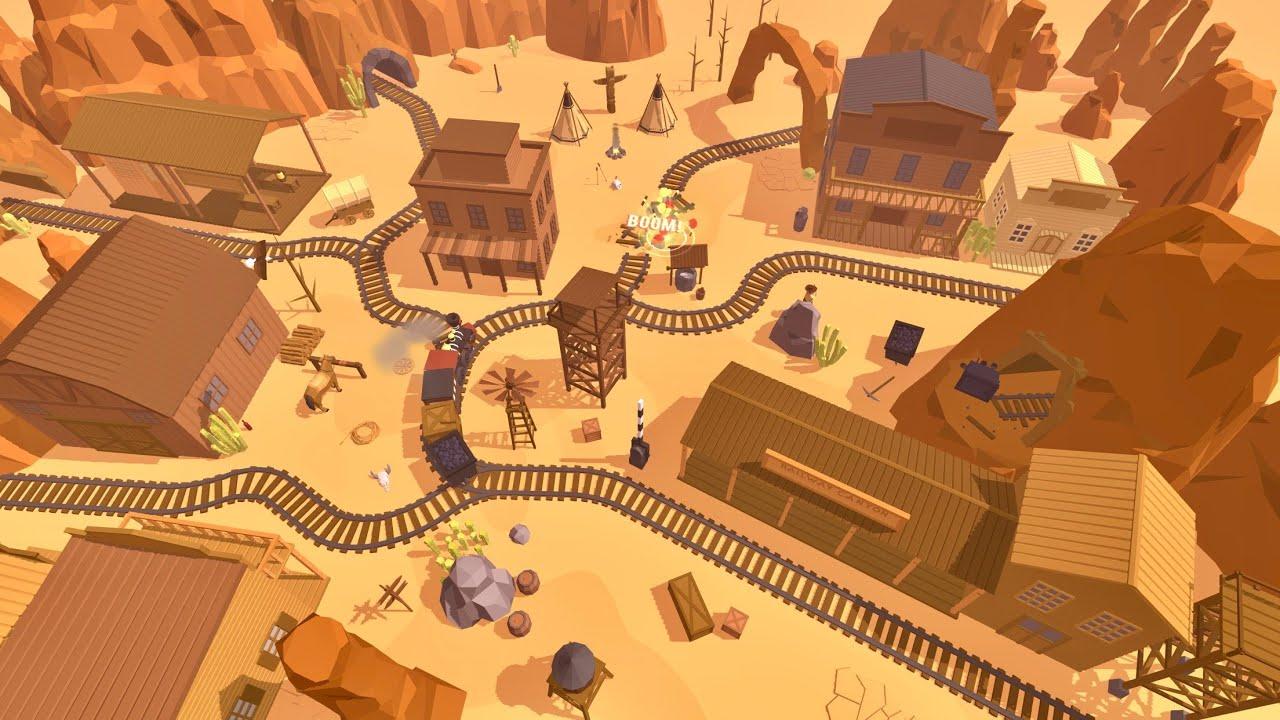 Railway Canyon Game Trailer