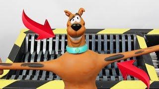 Toys Review Stretch Scooby Doo Toy VS Shredder BIG Shredder | The Crusher