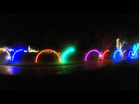 Leaping Arches Christmas Lighting Youtube