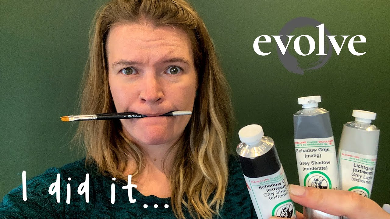 I enrolled in (online) art school! // Evolve [First Thoughts]