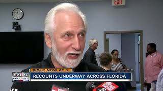 Recounts underway across Florida