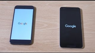 Google Pixel XL vs Nexus 6P - Speed Test!