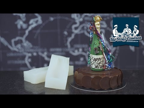 How to create chocolate display pieces using silicone by Mark Tilling