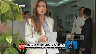 Dugaan Pelecehan Anak Nafa Urbach