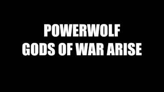 Powerwolf Gods Of War Arise Amon Amarth Cover Lyrics Video