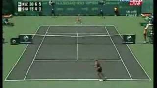 "Maria Sharapova ""Oh aiai"" the funny Scream"