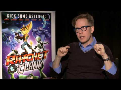 Ratchet & Clank Movie: James Arnold Taylor Official Movie Interview