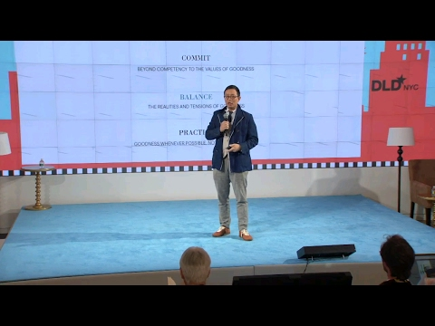 Good People - Leadership In The Digital Age (Tony Tjan, The Cue Ball Group) | DLD New York