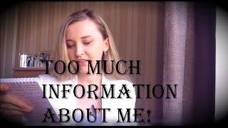 TAG СЛИШКОМ МНОГО ИНФОРМАЦИИ ОБО МНЕ! Too much information!