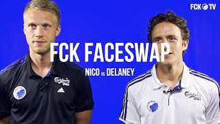 Faceswap-premiere: nicolai j vs delaney