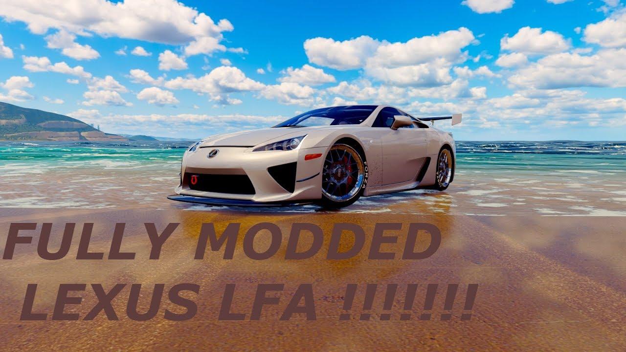 Lexus Lfa Tune Forza Horizon 3