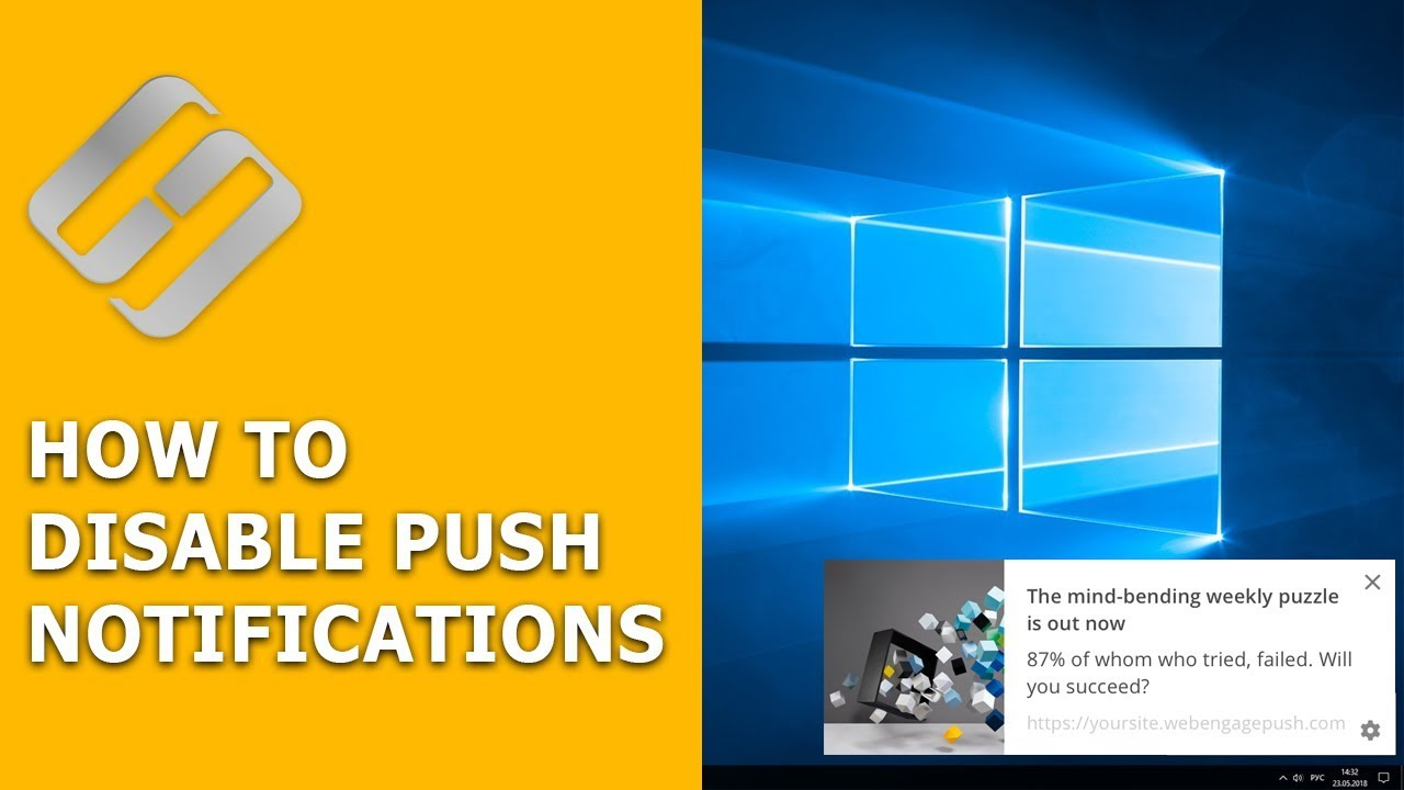 How to Disable Push Notifications in Chrome, Opera, Firefox 💬💻🌐