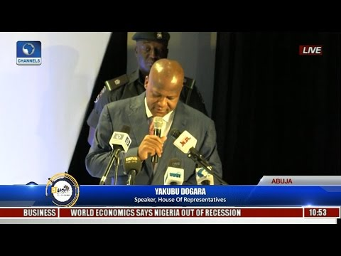 NIMASA AAMA: Speaker Dogara Hints Continent's Vast Maritime Resources Key To Economic Recovery Pt.1