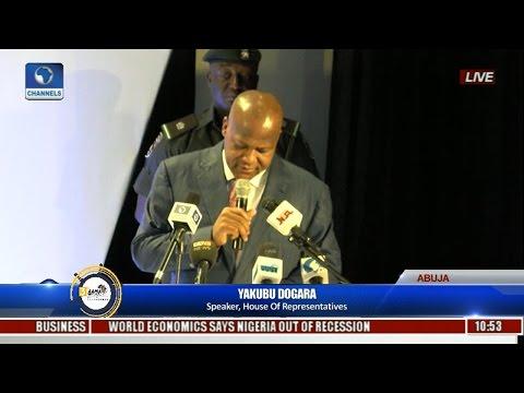 NIMASA AAMA: Speaker Dogara Hints Continent's Vast Maritime Resources Key To Economic Recovery Pt.1