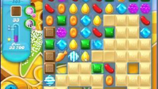 Candy Crush Saga SODA Level 505 CE