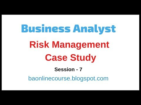 Risk Management Tutorial | BA Strategies, Monitoring, Tracking | Business Analyst Case Study thumbnail