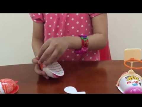 Trò chơi bóc trứng socola Kinder Joy with Surprise Eggs