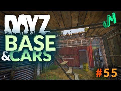 DayZ 🎒 BASE and CARS Xbox One X - Stream 55