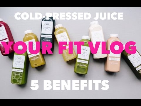 5 YourFIT Benefits of Cold-Pressed Green Juice | YourFITwithSasha