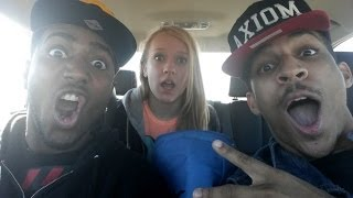 Why Is This Little White Girl With These Two Black Men?