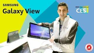CES 2016. Обзор нового планшета Samsung Galaxy View