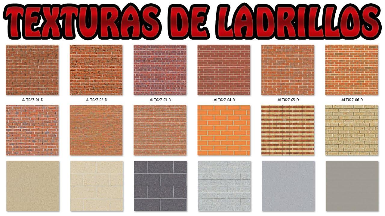 TEXTURAS DE LADRILLOS DESCARGA PACK MEGA YouTube
