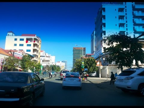 Asian Travel - Phnom Penh Street Tour Two Years Ago - Youtube