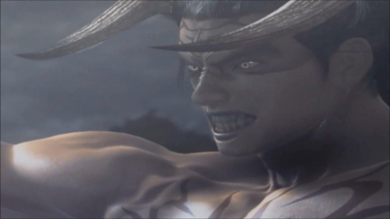 Tekken 5 Story Battle Devil Jin Youtube