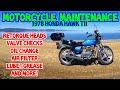 Motorcycle Maintenance 1978 Honda Hawk TII CB400