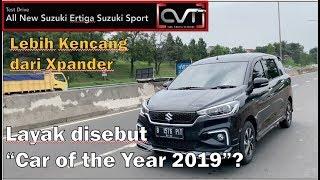 CVT Review #41: All New Ertiga Suzuki Sport 2019  | CAR OF THE YEAR 2019 |