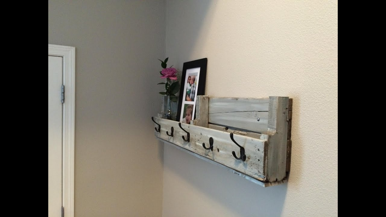 Easy Pallet Shelf Up Cycle Challenge 2014