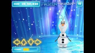 Снеговик танцует